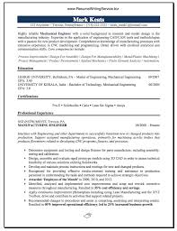 mechanical engineer resume sample career u0026 education pinterest
