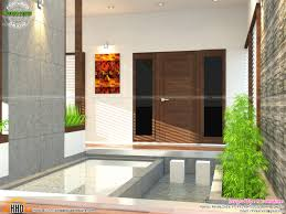 Home Designs Kerala With Plans Stair Living And Courtyard Kerala Home Design And Floor Plans