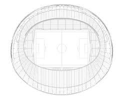 gallery of hazza bin zayed stadium pattern design 12