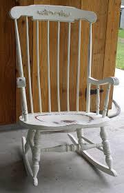 Ladybug Rocking Chair White Shabby Rocking Chair 295 00 Via Etsy I U0027m Going To