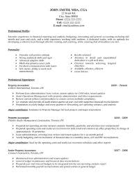 Auditor Sample Resume by Accountant Sample Resume Jennywashere Com