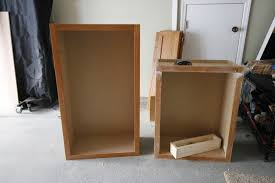How To Build A Base Cabinet by Turning A Cabinet Into A Pull Out Trash Can U2022 Charleston Crafted