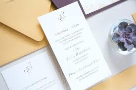 where to print wedding invitations custom wedding invitation printing or screen printed