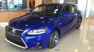 lexus for sale ct 2014 lexus ct 200h hybrid ultrasonic blue f sport package