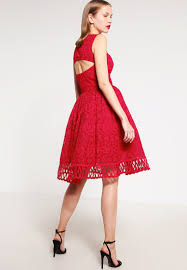 chi chi london nuria cocktail dress party dress red women