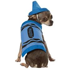 crayon costume crayola crayon dog costume by rasta imposta blue with same day