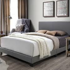 Bedframe With Headboard Bed Frame And Headboard Wayfair
