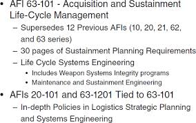 by order of the air force instruction 65 601 volume 3 1 2 review of the impact of regulations policies and strategies on