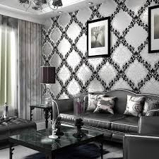 cool black and white wallpaper room ideas for you 8567