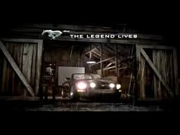 steve mcqueen mustang commercial 2006 ford mustang commercial