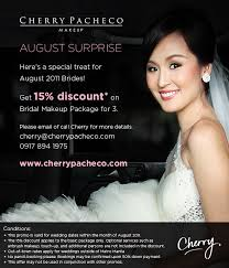 bridal makeup package cherry pacheco august