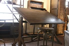 Vintage Wooden Drafting Table Home Element Wooden Drafting Tables Professional Solid Wood