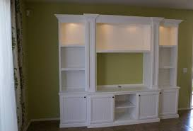 White Tall Bookcase Wall Units Extraordinary Wall Units With Doors Marvelous Wall