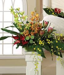 Pedestals Flowers Funeral Flowers For Men Sympathy Flowers For Him