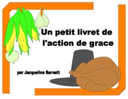 de grace livret thanksgiving book by mon petit