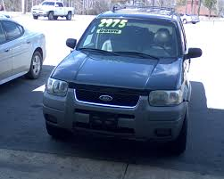 Ford Escape Msrp - 2002 ford escape information and photos zombiedrive