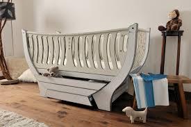 Crib To Bed Furniture Bespoke Nursery Furniture The Domani Cotbed Tomas Jani