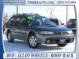 green subaru outback cars under 10 000 1998 subaru legacy outback green 4 600
