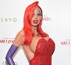 Rabbit Halloween Costume Heidi Klum Dresses Jessica Rabbit Annual Halloween Party