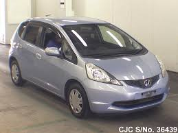 2009 honda fit jazz light blue for sale stock no 36439