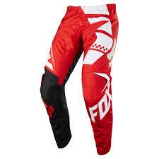 fxr motocross gear 2018 fox racing 180 sayak pant red sixstar racing