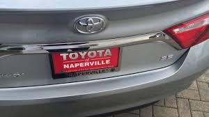 toyota camry trunk 2016 toyota camry trunk space toyota of naperville youtube