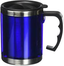Desk Mug Amazon Com Orii Stainless Steel Desk Mug Silver Travel Mug