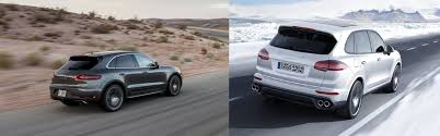 Porsche Cayenne Macan - go off road with the 2017 porsche suvs the macan and the cayenne