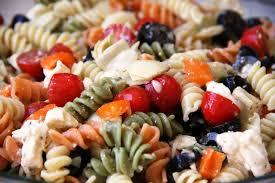 summer pasta salad gluten free option vegan option vegetarian