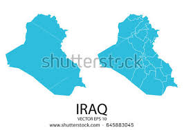 iraq map vector iraq map stock images royalty free images vectors