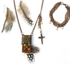 necklaces for christian jewelry necklace with decorative brown glass tile