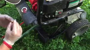troy bilt pressure power washer starting problem issue quick fix