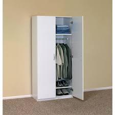 home depot wardrobe cabinet white wardrobe cabinet closetmaid 30 in 2 door wardrobe cabinet