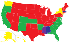 us map abortion in the united states by state