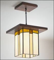 Craftsman Style Pendant Lighting Craftsman Style Interior Lighting Arts And Crafts Bungalow And