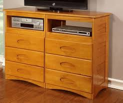bedroom entertainment dresser discovery world furniture entertainment dresser 2171 honey