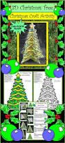 christmas crafts u0026 art activities 3d christmas tree christmas
