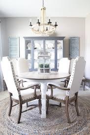 Oak Dining Room Weathered Oak Dining Table Makeover Bless Er House