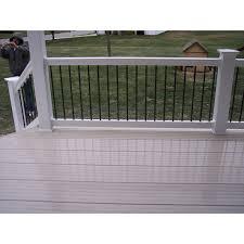 6 u0027 crawford baluster handrail system vinyl handrail systems