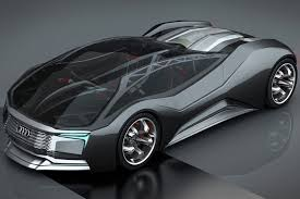future audi r8 audi f tron concept is a nuclear powered glimpse of the future