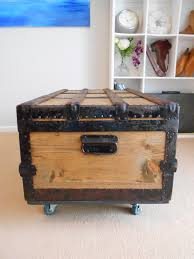 coffee tables suitcase end tables storage trunk coffee table
