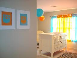 deco chambre orange déco de la chambre bébé fille sans en 25 idées