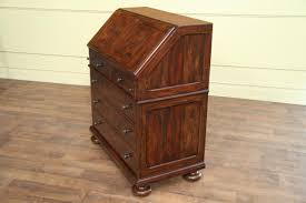 Organizing Desk Drawers by Antiqued Wood Slant Desk With Interior Drawers And Pigeon Holes