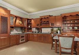 China Kitchen Cabinet by Real Wood Kitchen Cabinets