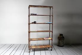 Reclaimed Wood And Metal Bookcase Fantastic Reclaimed Wood Bookcase Home Design By John