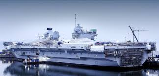 hms queen elizabeth making good progress save the royal navy