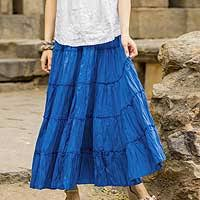 cotton skirts skirts women s skirt collection at novica