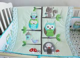 3d embroidery owl bird quilt baby quilt wholesale china factory
