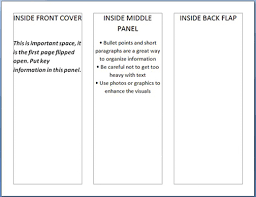 blank brochure template word how to make a brochure in ms word