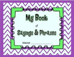 student book of idioms sayings and phrases knowledge third